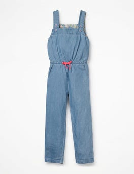 Light Chambray Woven Jumpsuit