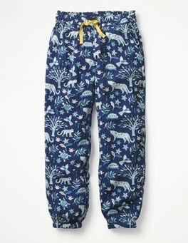Starboard Blue Island Batik Relaxed Woven Pants