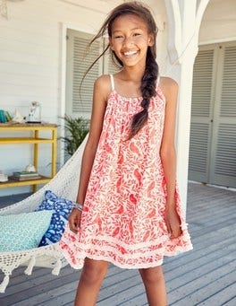 Woven Vacation Dress