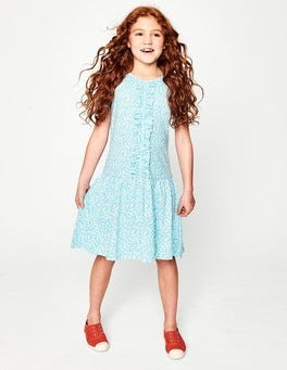 Jersey Ruffle Dress
