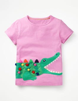 Cypher Purple Crocodile Fluttery Animal T-shirt