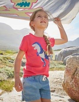 Sequin Appliqué T-shirt
