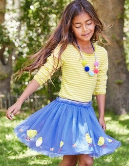 Easter Appliqué Tulle Skirt