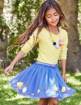 Easter Appliqué Tulle Skirt