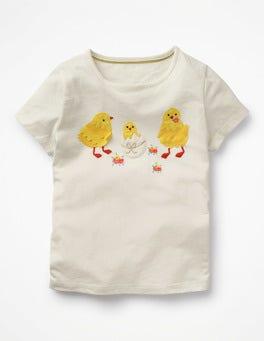 Ivory Chicks Easter Animal T-shirt