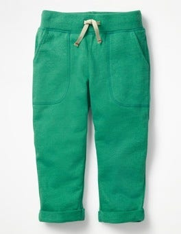 Jungle Green Marl Slim Sweatpants