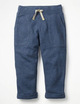 Indigo Marl Slim Sweatpants