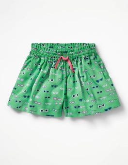 Peppermint Green Sunglasses Pretty Woven Culottes