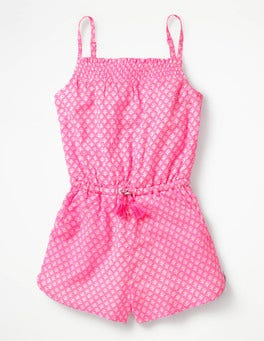 Strappy Woven Playsuit