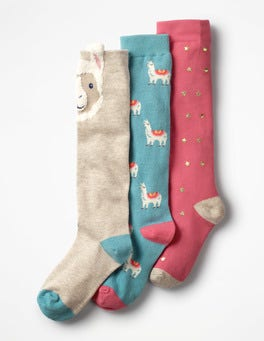 3 Pack Knee-high Socks