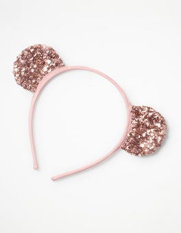 Rose Gold Metallic Sequin Headband