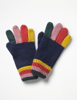 Multi Rainbow Gloves