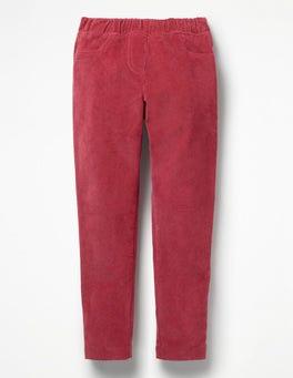 Bramble Red Cord Leggings