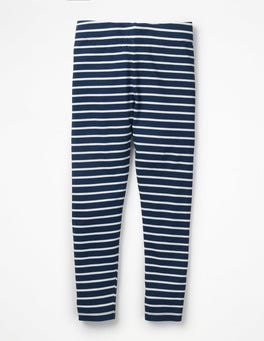School Navy/Ecru Fun Leggings