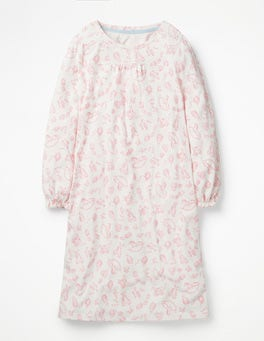Shell Pink Nursery Printed Nightgown