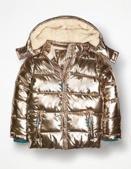 Metallic Cosy Padded Jacket