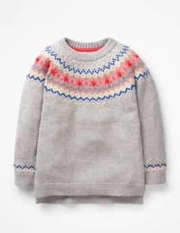 Rainbow Fair Isle Fair Isle Sweater