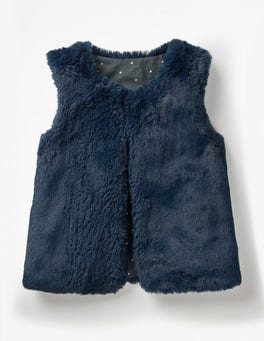 Navy Star Party Gilet