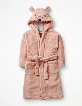 Provence Dusty Pink Spot Bear Novelty Dressing Gown