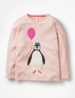 Provence Dusty Pink Penguin Party Animals T-shirt