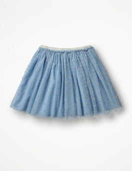 Boathouse Blue Party Tulle Skirt