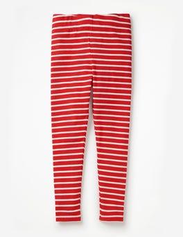 Rouge poli/écru Legging fun