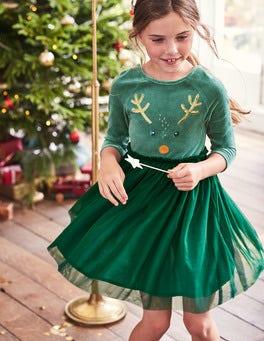 Velvet Novelty Dress
