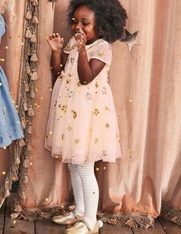 Sequin Star Tulle Dress