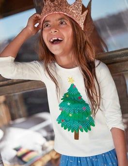 T-shirt festif virevoltant