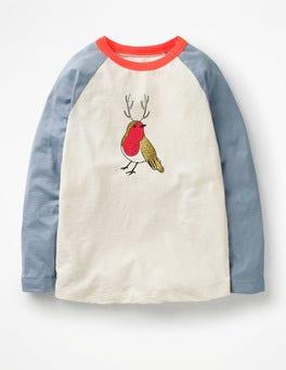 Festive Raglan T-shirt