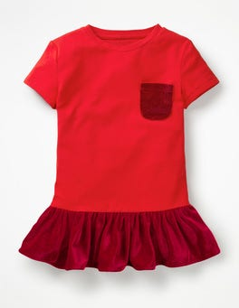 Polish Red Velvet Party Top