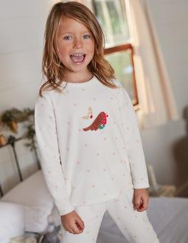 Velour Pyjama Set