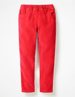 Polish Red Cord Leggings