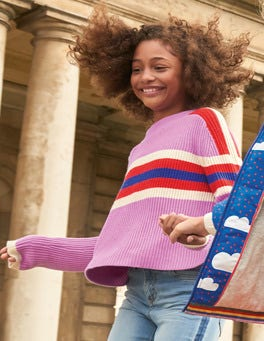 Colourful Knitted Jumper