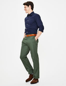 Richmond Green Chino authentique coupe droite