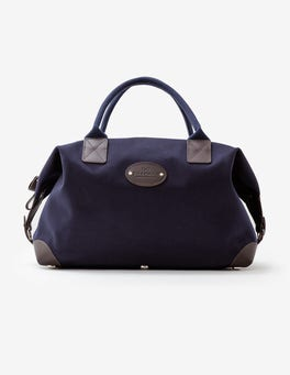 Navy Chapman Medium Classic Holdall