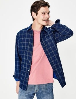 Chemise à double tissu