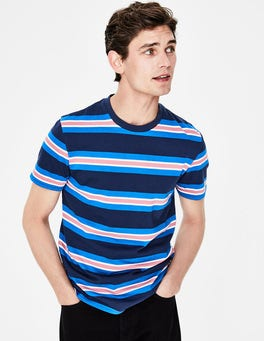 School Navy Stripe Wide Stripe T-shirt