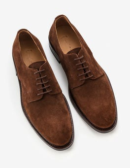 Chestnut Suede Corby Derby Shoe