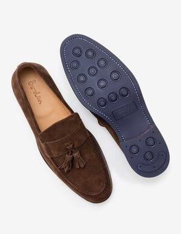 Brown Suede Corby Loafer