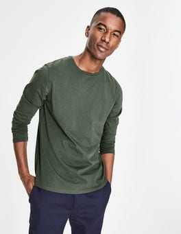 Richmond Green Long Sleeve Washed T-shirt