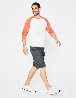 London Grey Cargo Shorts