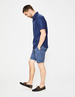 Stone Blue Chino Shorts