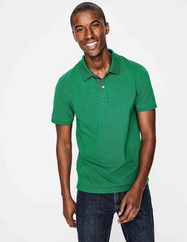 Green Baize Piqué Polo