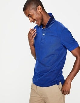 Blue Wave Piqué Polo