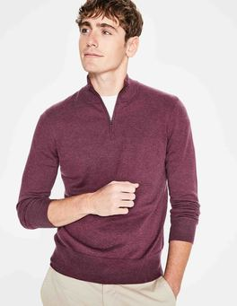 Plum Berry Linden Half-Zip