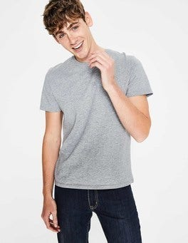 Grey Marl Washed T-shirt