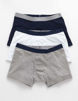 Plain Pack 3 Pack Jersey Boxers
