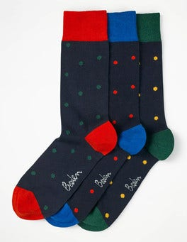 Blues Spot Pack Favourite Socks