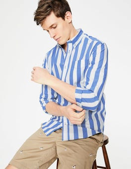 Slim Fit Casual Poplin Shirt